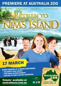 Return to Nim's Island – National Premiere at Australia Zoo