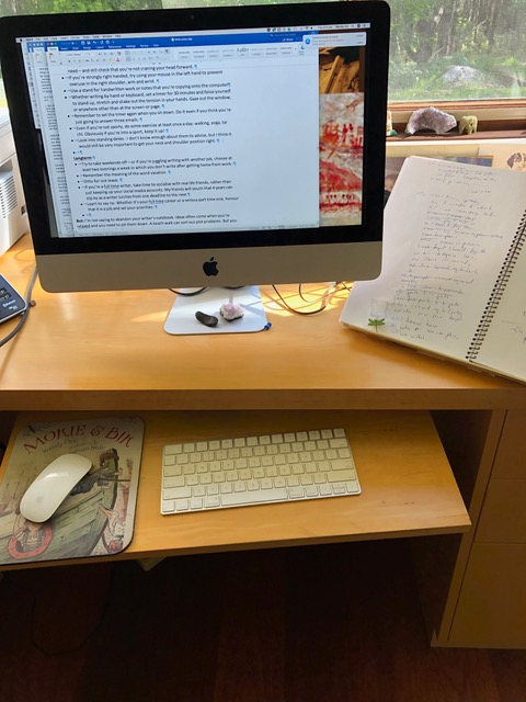 Writing – It's not all in the mind